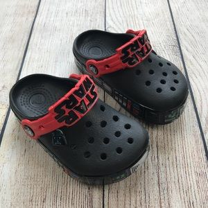 Crocs Star Wars Toddler lights up Size 8